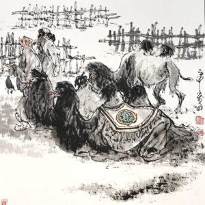 Hongtu Tian 022 67x67cm
