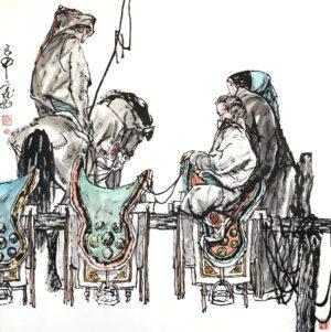Hongtu Tian 025 67x67cm