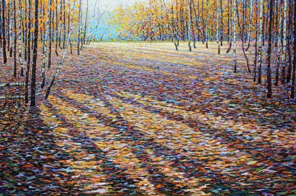 """Jack Zhou 022 36x58 """" oil on canvas"""