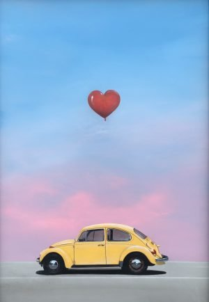 "Love Bug 24x34"" Acrylic on board"