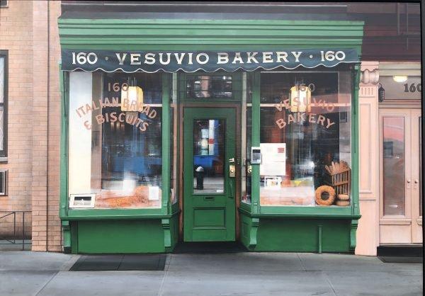 "Vesuvio Bakery 34x48"" Acrylic on board"